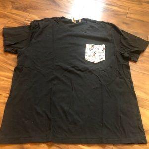 Men's JunkFood Disney xxl T-shirt with pocket